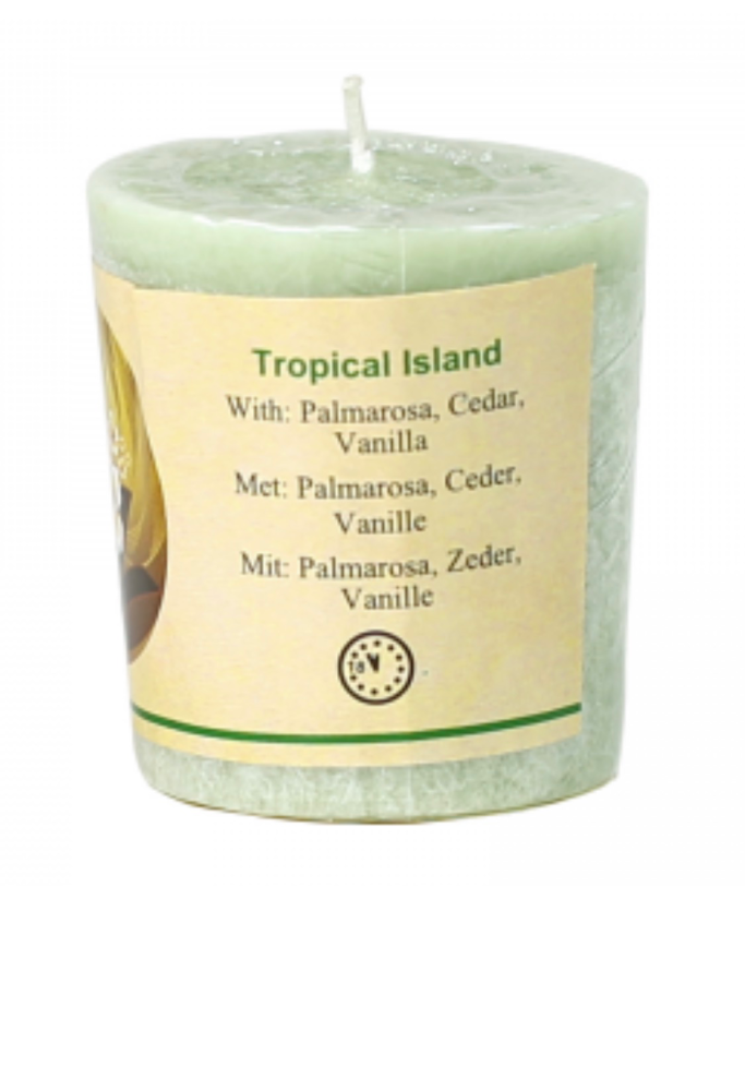 Chill-out Scented Candle - Tropical Island