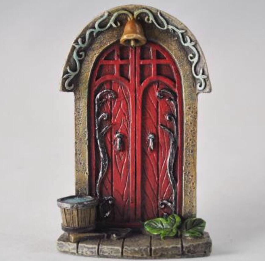 Fairy Door - Red Arch