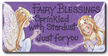 Magnet - Fairy Blessings sprinkled with stardust just for you