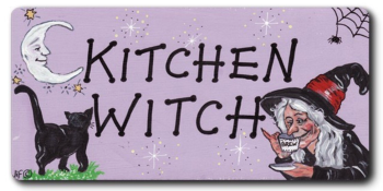 Magnet - Kitchen Witch