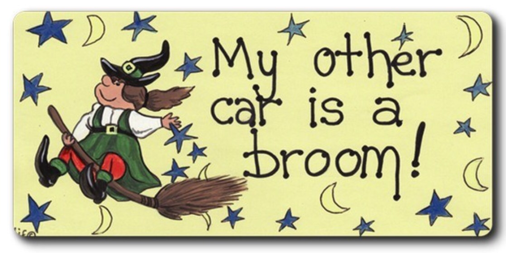 Magnet - My other car is a broom!