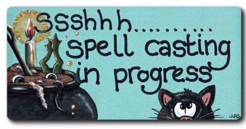 Magnet - Ssshhh spell casting in progress