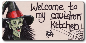 Magnet - Welcome to my (cauldron) kitchen