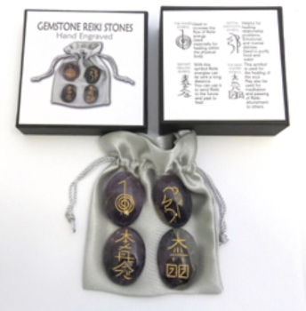 Amethyst Gemstone Reiki Stones