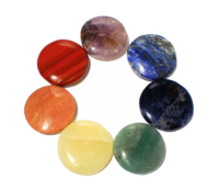Chakra Stones Round - SET of 7
