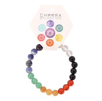Gemstone Chakra Ball Bracelet