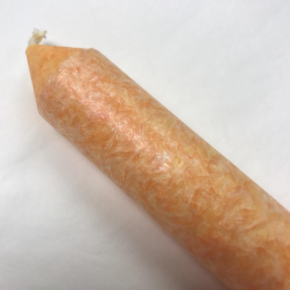 Dinner Candle with Fragrance - 2nd Chakra - Swadhishtana (Orange)