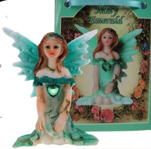 Birthstone Fairy - May (Emerald)