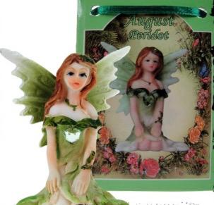 Birthstone Fairy - 08 August (Peridot)