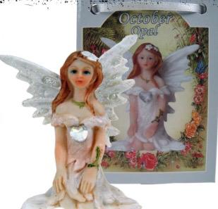 Birthstone Fairy - October (Opal)