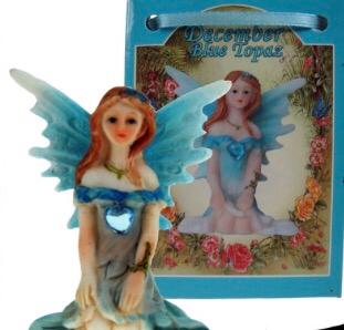 Birthstone Fairy - December (Blue Topaz)