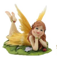 Floral Slumbers Fairy - Yellow
