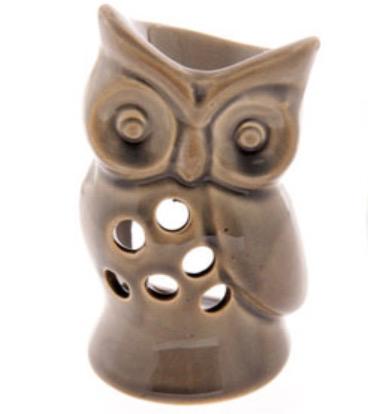 Oil Burner - Grey Owl
