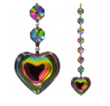 Crystal Chakra String: Aurora Heart Multi Feng-Shui (8) 16598
