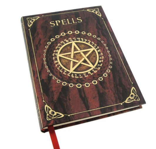 Embossed A5 Spell Journal Red