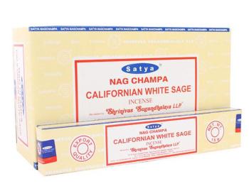 Satya - Sage, Californian White Incense Sticks