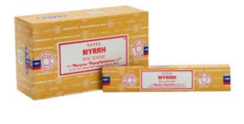Satya - Myrrh Incense Sticks