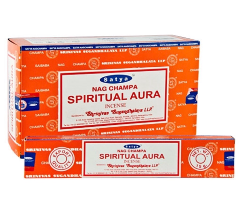 Satya - Spiritual Aura Incense Sticks