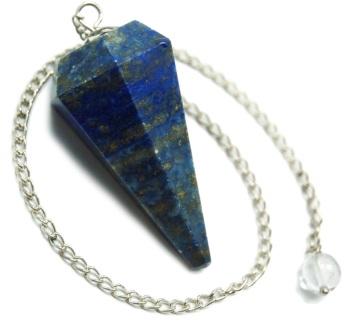 Faceted Pendulum - Lapis Lazuli
