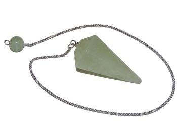 Faceted Pendulum - New Jade
