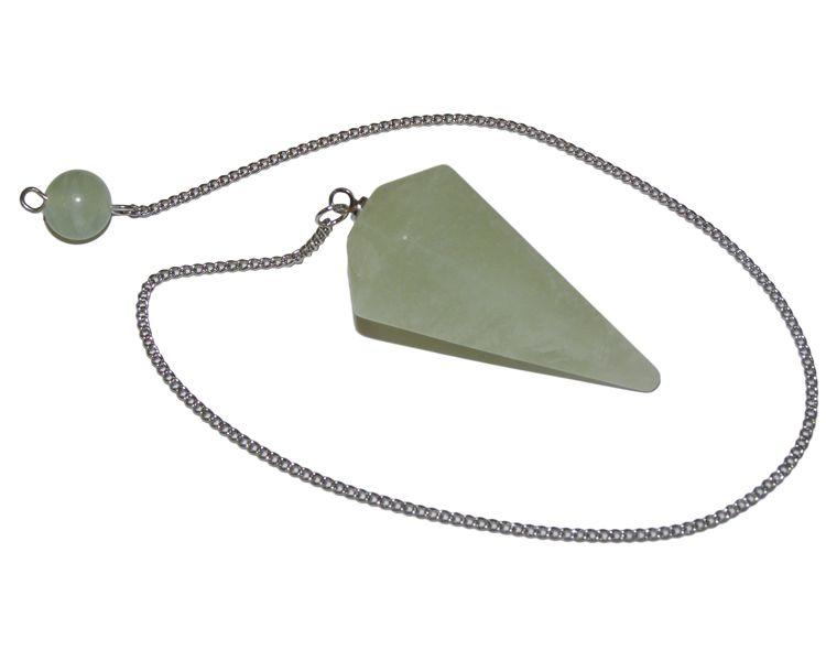 Faceted Pendulum - New Jade