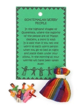 Guatemalan Worry People in Bag