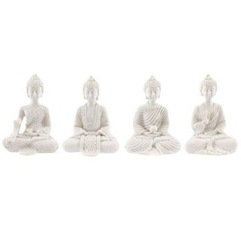 Mini Thai Buddha - White