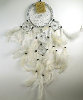 Silver Dreamcatcher