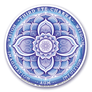 Window Sticker - 6th Chakra - Third Eye