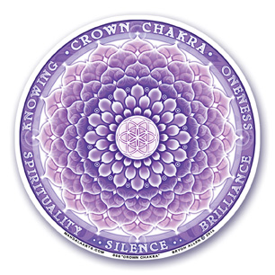 Window Sticker - 7th Chakra - Crown