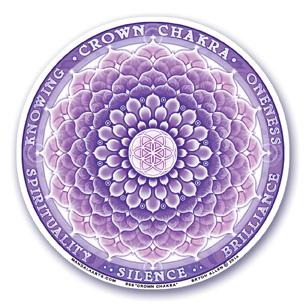 Window Sticker - 7th Chakra - Crown