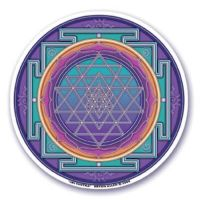 Window Sticker - Sri Yantra