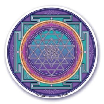 Window Sticker - Sri Yantra