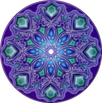 Window Sticker - Nirvana Mandala
