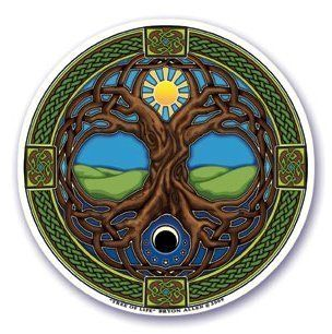 Window Sticker - Tree of Life