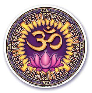 Window Sticker - Ohm Namah Shivaya