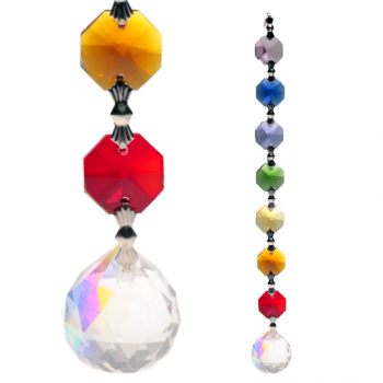 Crystal Chakra String: Aurora Sphere Feng-Shui