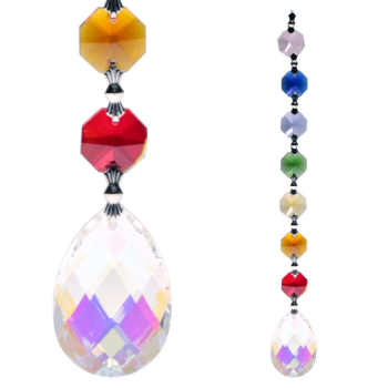 Crystal Chakra String: Aurora Amrita Feng-Shui (5) 1773