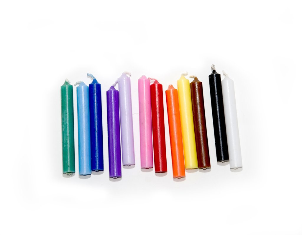 Solid Colour Spell Candles