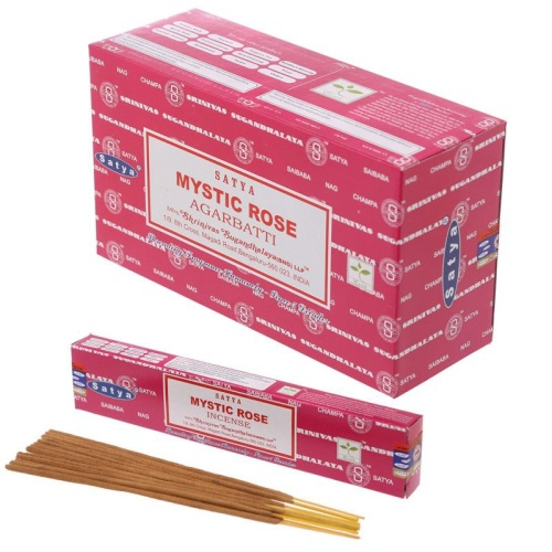 Satya - Mystic Rose Incense Sticks