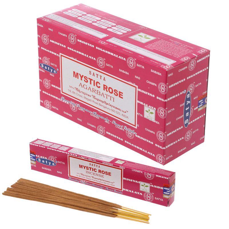 Satya - Mystic Rose Incense Sticks
