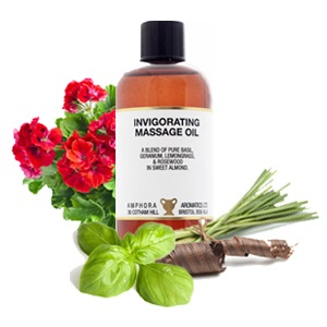 Massage Oil - Invigorating- 100ml