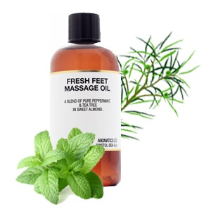 Massage Oil - Fresh Feet - 100ml