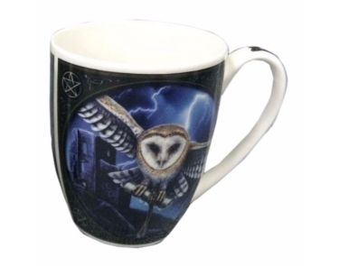 Bone China Mug - Heart of the Storm by Lisa Parker