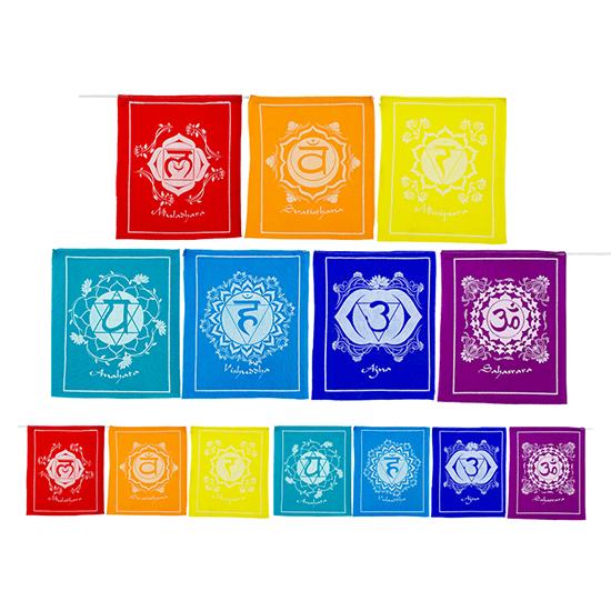 Chakra Prayer Flags