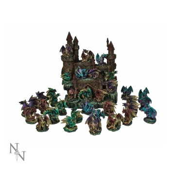 Miniature Dragon Figurine
