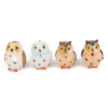 Miniature Resin Owl