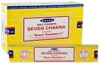 Satya - Seven Chakra Incense Sticks
