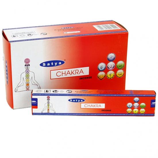 Satya - Chakra Incense Sticks