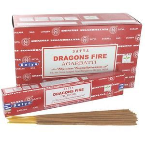 Satya - Dragons Fire Incense Sticks